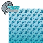 Manatee: Swim with Manatee 2 Piece Laser Die Cut Kit