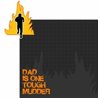 Marathons: Tough Mudder Dad 2 Piece Laser Die Cut Kit