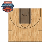 March Madness: College Basketball Fanatic 2 Piece Laser Die Cut Kit