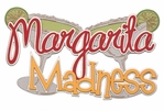Margarita Madness Metallic Laser Die Cut