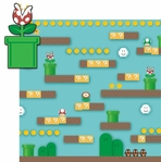 Mario: Pirahna Plant 2 Piece Laser Die Cut Kit
