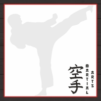 Martial Arts: Karate Master 12 x 12 Paper