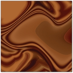 Melted Chocolate 12 x 12 Paper