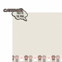 Meow: Cattitude 2 Piece Laser Die Cut Kit