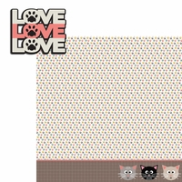 Meow: Love 2 Piece Laser Die Cut Kit