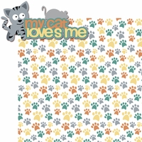 Meow!: My Cat Loves Me 2 Piece Laser Die Cut Kit