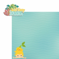 Mermaid: Keep Swimming 2 Piece Laser Die Cut Kit