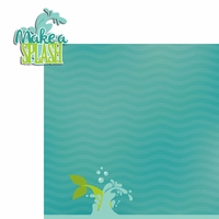 Mermaid: Splash 2 Piece Laser Die Cut Kit
