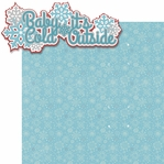 Merry And Bright: Baby It's Cold Outside 2 Piece Laser Die Cut Kit