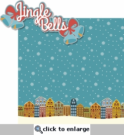 Merry And Bright: Jingle Bells 2 Piece Laser Die Cut Kit