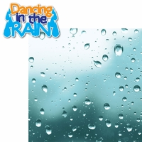 Messy Kids: Dancing in the Rain 2 Piece Laser Die Cut Kit