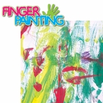 Messy Kids: Finger Painting 2 Piece Laser Die Cut Kit