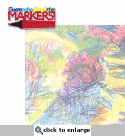 Messy Kids: Markers 2 Piece Laser Die Cut Kit