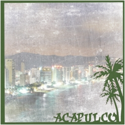 Mexico: Acapulco 12 x 12 Overlay Quick Page Laser Die Cut