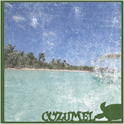 Mexico: Cozumel 12 x 12 Overlay Quick Page Laser Die Cut
