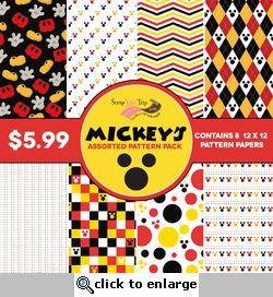 Mickey's Pattern Paper Pack