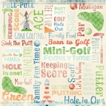 Mini Golf: Mini Golf Collage 12 x 12 Paper