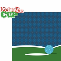 Mini Golf: Nothin' But Cup 2 Piece Laser Die Cut Kit