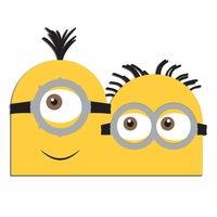 Minion Laser Die Cut