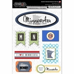 Minnesota Journal - Dimensional Sticker
