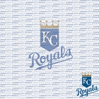MLB Fanatic: Kansas City Royals 12 x 12 Paper