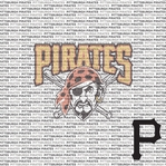 MLB Fanatic: Pittsburgh Pirates 12 x 12 Paper