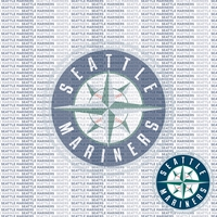 MLB Fanatic: Seattle Mariners 12 x 12 Paper