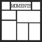 Moments 12 x 12 Overlay Laser Die Cut