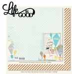 Moments and Memories: Life Is Good 2 Piece Laser Die Cut Kit