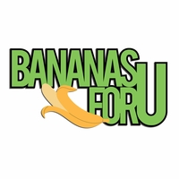 Monkey: Bananas For U  Laser Die Cut