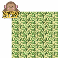 Monkey: Silly 2 Piece Laser Die Cut Kit