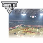 Monster Jam 2 Piece Laser Die Cut Kit