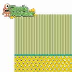Monster Mania: Giggle Monster 2 Piece Laser Die Cut Kit