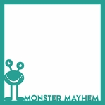 Monster Mania: Monster Mayhem Laser Die Cut