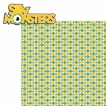 Monster Mania: Silly Monsters 2 Piece Laser Die Cut Kit