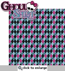 Monster's High School: Ghoul Spirit 2 Piece Laser Die Cut Kit