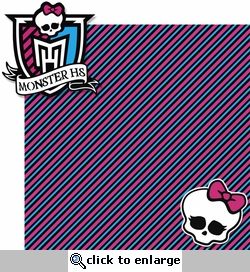 Monster's High School: Monster HS 2 Piece Laser Die Cut Kit