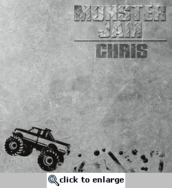 Monster Truck: Monster Jam Custom 12 x 12 Paper