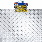 Monster Truck: Monster Truck Madness 2 Piece Laser Die Cut Kit