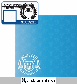 Monster U: Student ID 2 Piece Laser Die Cut Kit