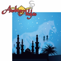 Morocco: Arabian Nights 2 Piece Laser Die Cut Kit