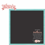 Mother's Day: Loving Mother 2 Piece Laser Die Cut Kit
