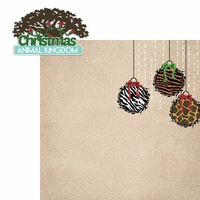 Mouse Christmas: Animal Kingdom 2 Piece Laser Die Cut Kit