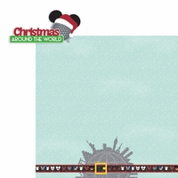 Mouse Christmas: Around the World 2 Piece Laser Die Cut Kit