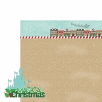 Mouse Christmas: Magical 2 Piece Laser Die Cut Kit