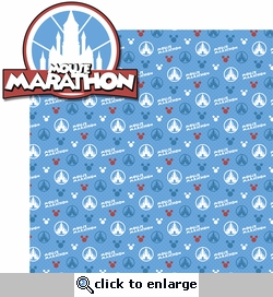 Mouse Marathons: Mouse Marathon 2 Piece Laser Die Cut Kit