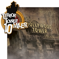 Mouse Marathons: Terror Tower 10 Miler 2 Piece Laser Die Cut Kit