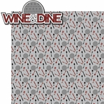 Mouse Marathons: Wine and Dine 2 Piece Laser Die Cut Kit