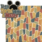 Mouse Memories: It All Started With A Mouse 2 Piece Laser Die Cut Kit
