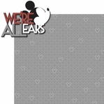 Mouse Memories: We're All Ears 2 Piece Laser Die Cut